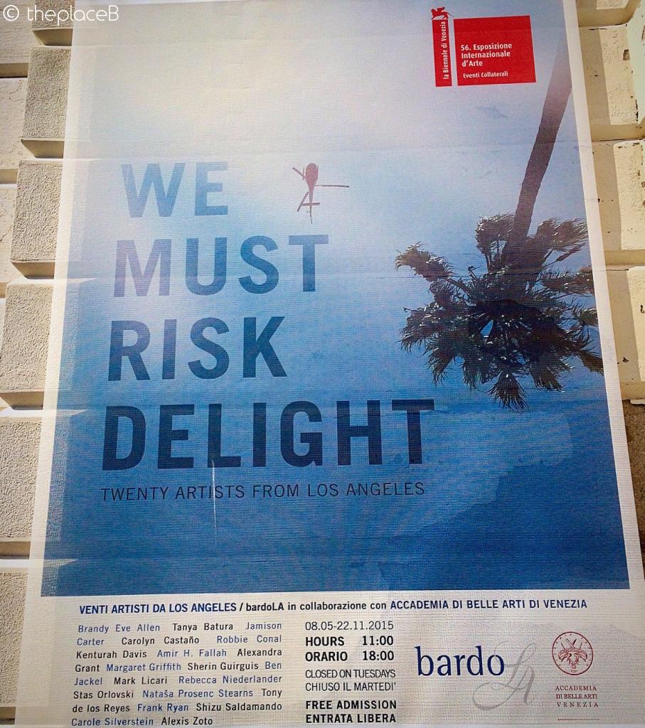 We must risk delight