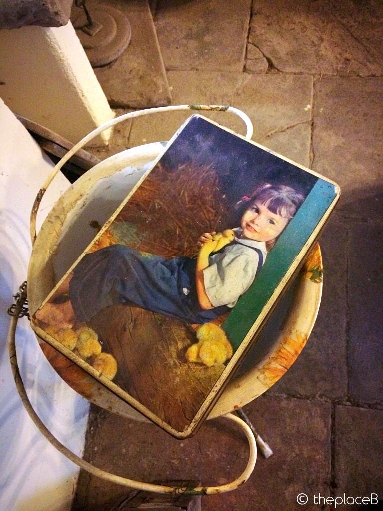 Castello di Sestola Scatola di biscotti vintage