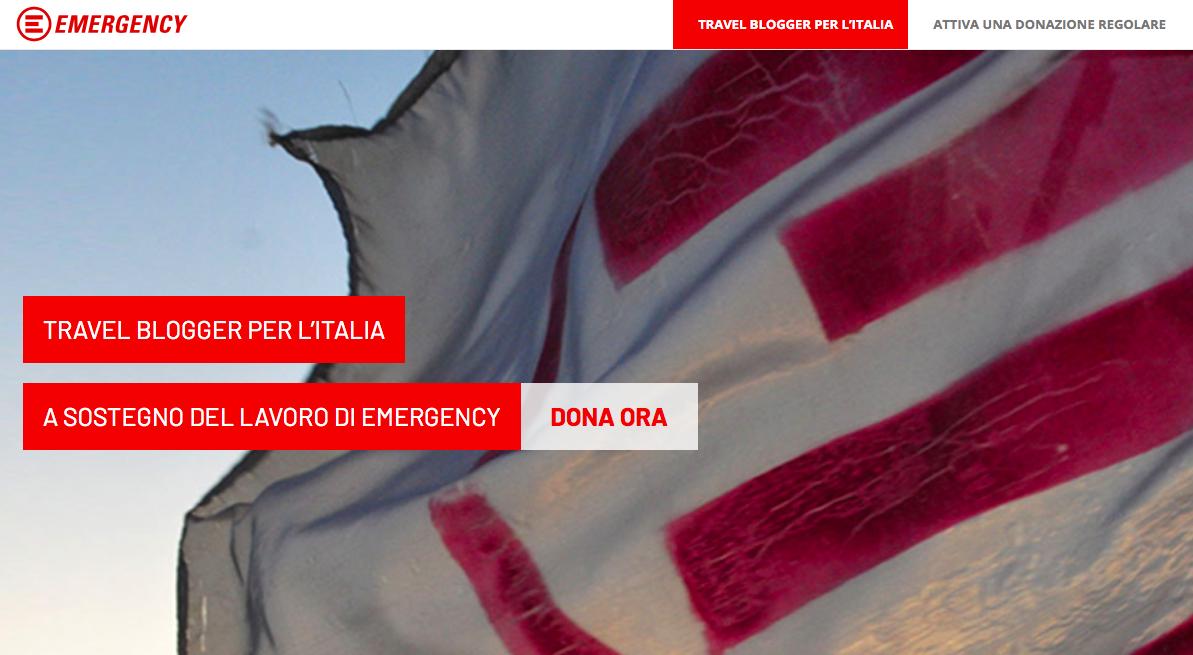 Italia Emergency #travelbloggerperlitalia
