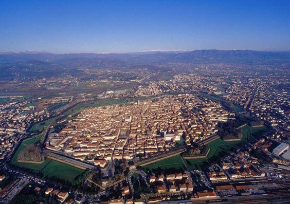 Lucca dall'alto credit meteoweb.eu