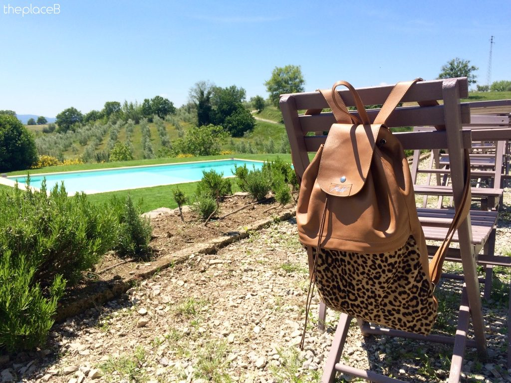 modì leather backpack