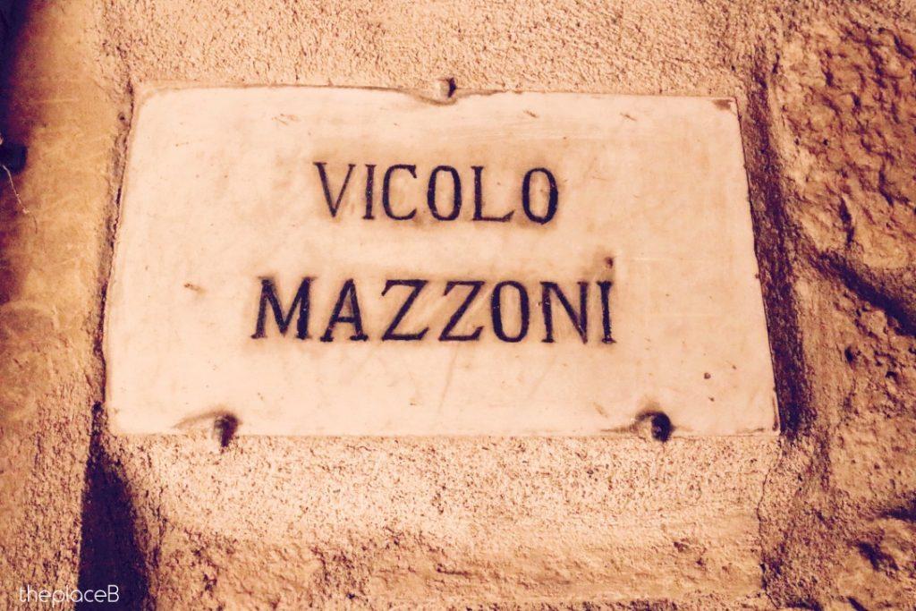 Vicolo Mazzoni Volterra
