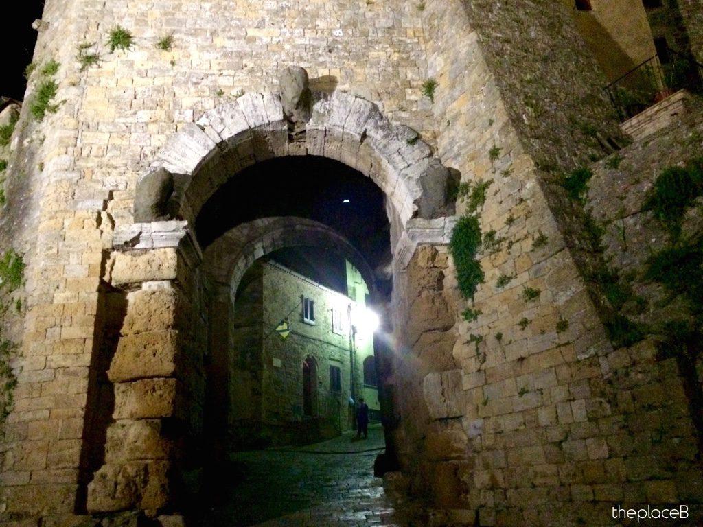 Porta dell'Arco Volterra - Porta Etrusca