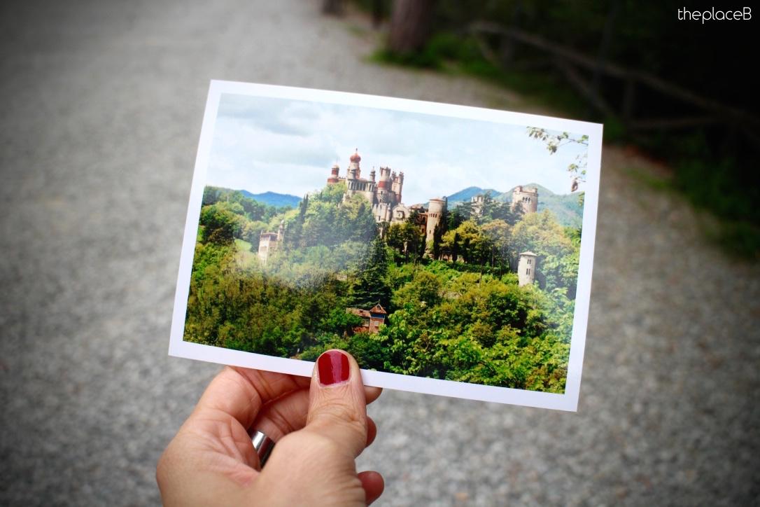 Rocchetta Mattei Bologna Postcard