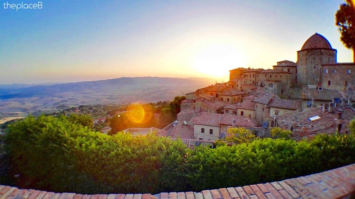 Volterra - sunset